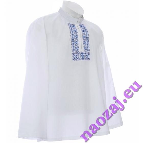 Mužská vyšívaná košeľa RADOVAN, vyšivka na hrudi