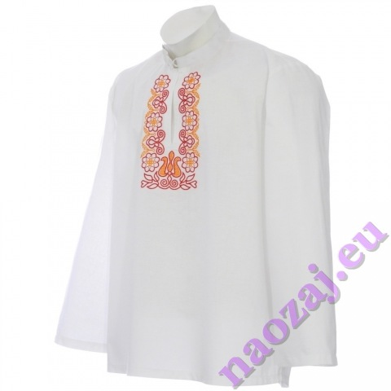 Krojová vyšívaná košeľa PETER - hruď