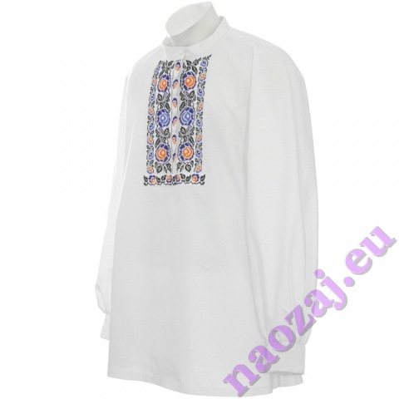 Krojová vyšívaná košeľa VRATKO - manžety
