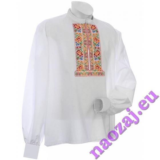 Hontianska vyšívaná košeľa JAROSLAV - kroj