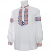 Krojová vyšívaná košeľa DUŠAN - manžety