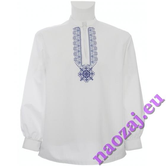 Šarišská mužská vyšívaná košeľa - stužka
