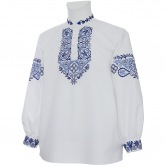 Krojová vyšívaná košeľa ĽUBOŠ - manžety