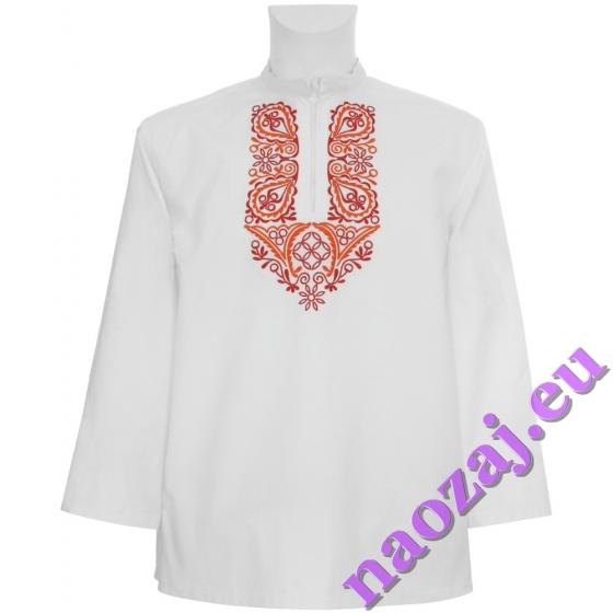 Krojová vyšívaná košeľa Krakovany - stužka