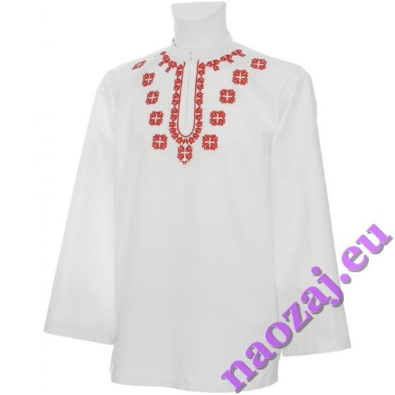 Krojová vyšívaná košeľa ŠTEFAN varianta