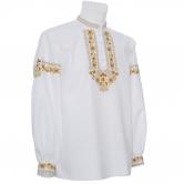 Krojová vyšívaná košeľa VLADIMÍR - manžety