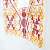 Pastiersky krojový kabát so vzorkou