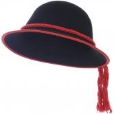 Goralský klobúk s lemovaním