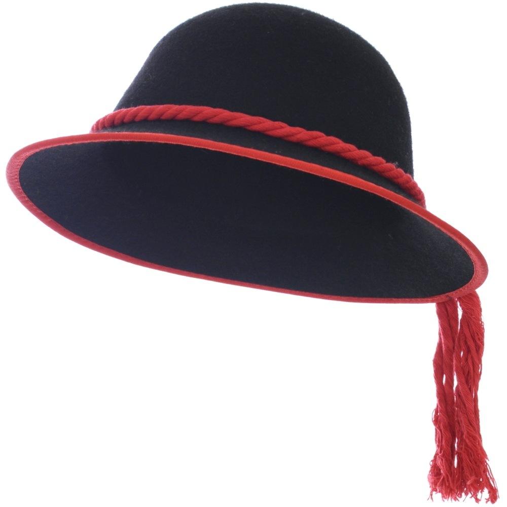 52dd75e9c Goralský klobúk s lemovaním