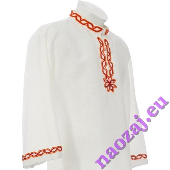 Krojová košeľa TOMÁŠ - Rozsah zdobenia: límec hruď rukávy