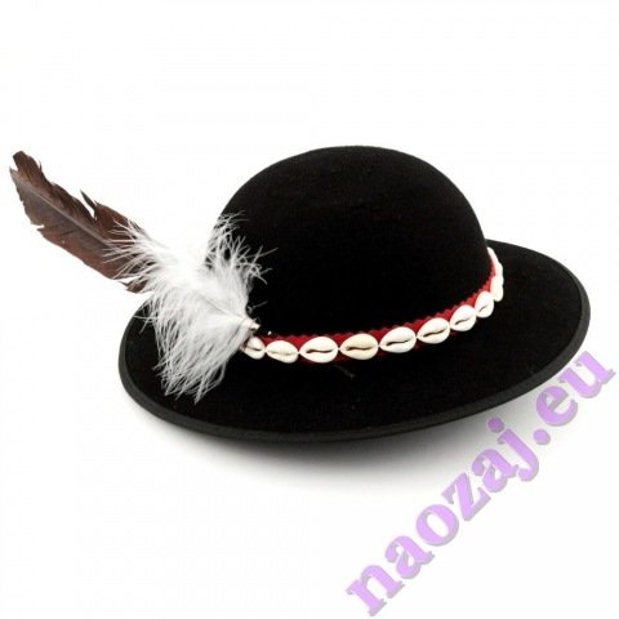 Goralský klobúk s mušličkami