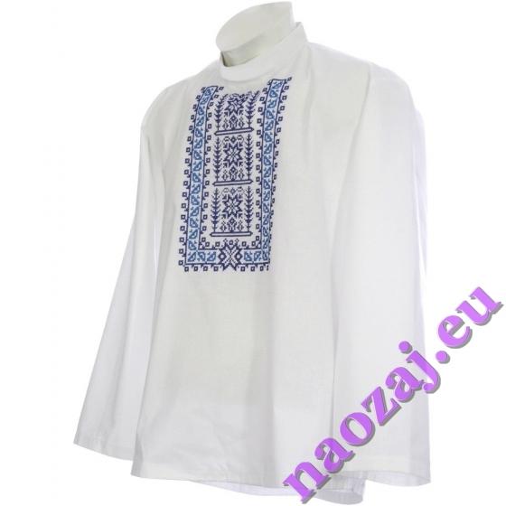 Krojová vyšívaná košeľa GEJZA - hruď