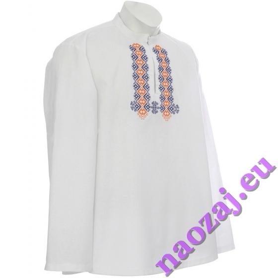 Krojová vyšívaná košeľa MICHAL - hruď
