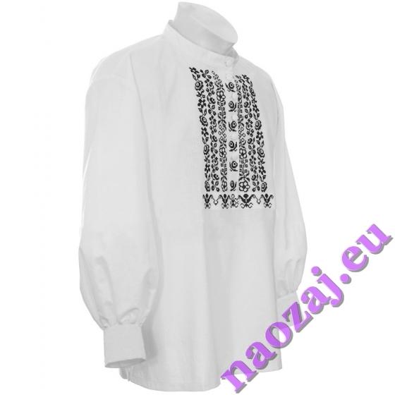 Krojová vyšívaná košeľa FRANTIŠEK - manžeta