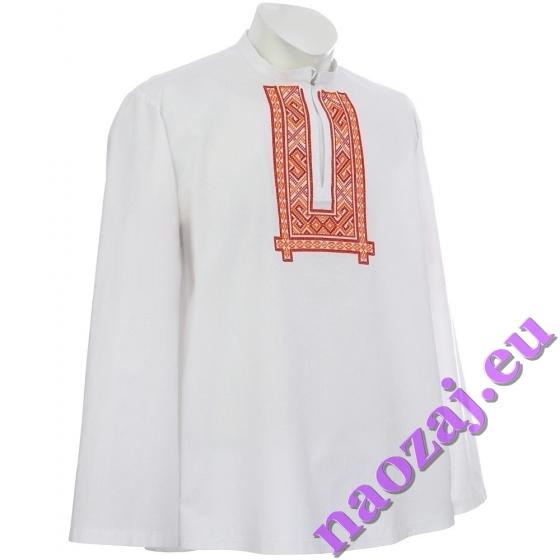 Krojová vyšívaná košeľa LADISLAV - rukav