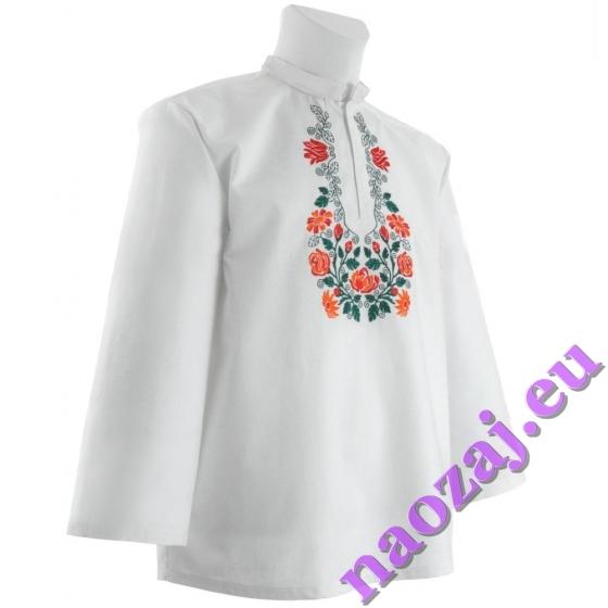 Krojová vyšívaná košeľa EMIL
