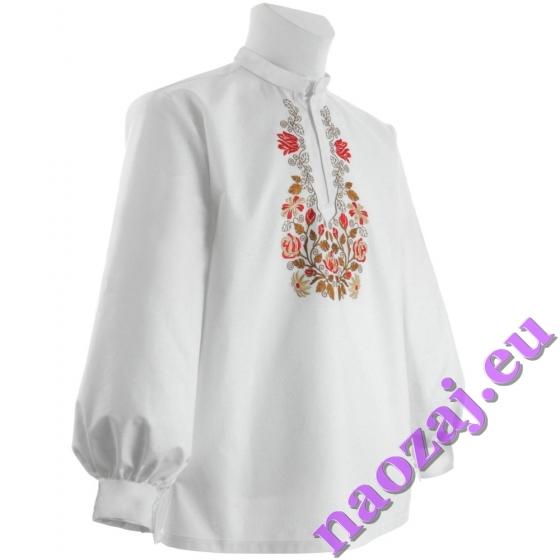 Krojová vyšívaná košeľa EMIL - manžety