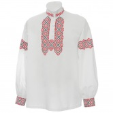 Krojová vyšívaná košeľa KRISTIÁN - s manžetami