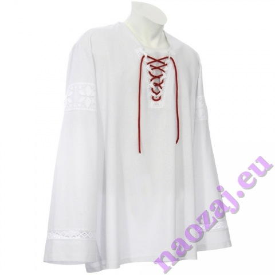 Krojová košeľa JURAJ s krajkou