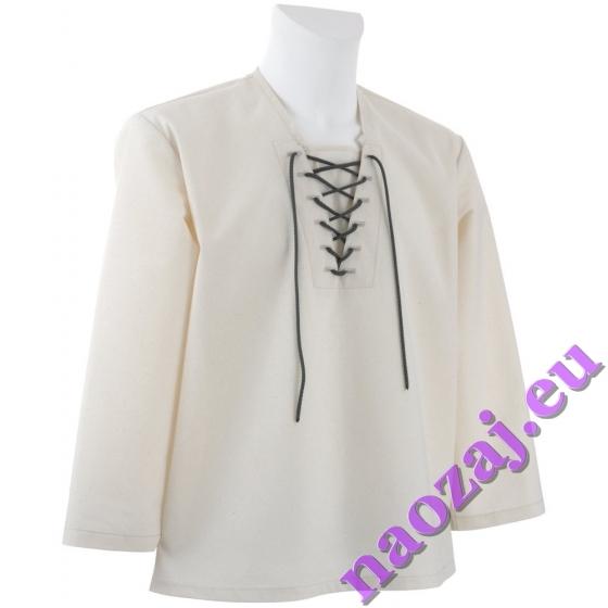 Krojová košeľa PANKRÁC - otvorený rukáv