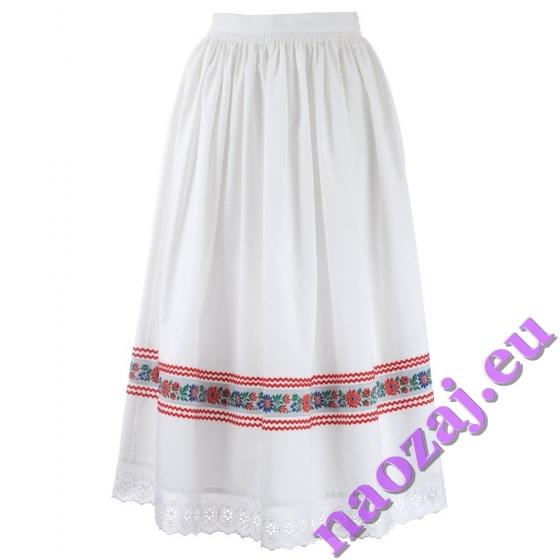 Riasená krojová sukňa Božena