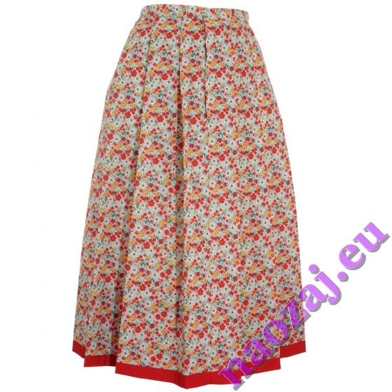 Skladaná krojová sukňa Barbora