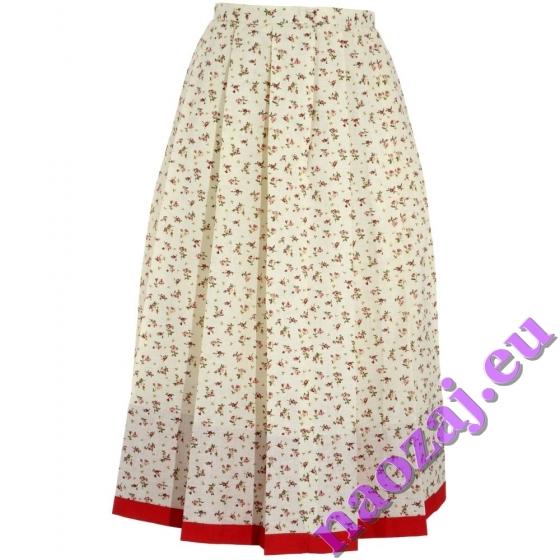 Skladaná krojová sukňa Dorota