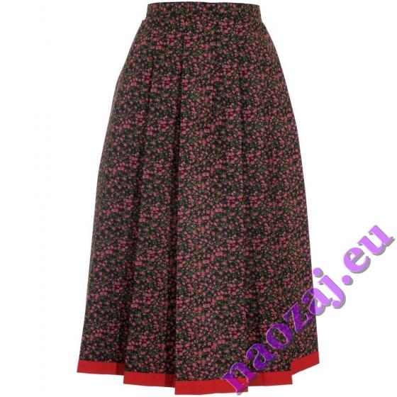 Skladaná krojová sukňa Helena