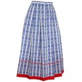 Skladaná krojová sukňa Irena