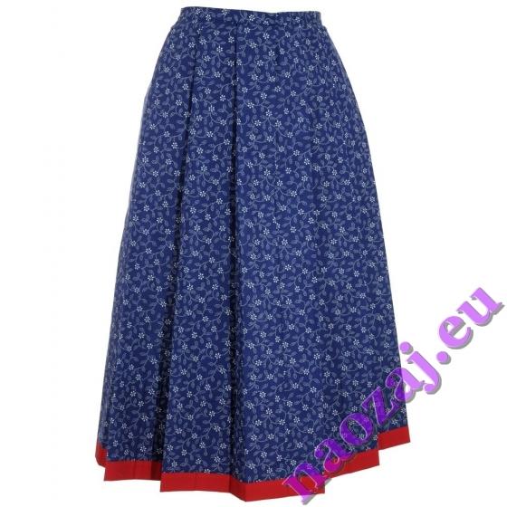 Skladaná krojová sukňa Ružena