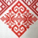 Krojová košeľa MATÚŠ zdobená výšivkou - detail krížíkovej výšivky